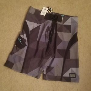 Maui and Sons surf shorts
